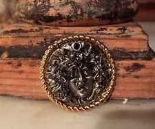 Authentic Gianni Versace Atelier Medusa Head Gold Buttons (1 - 6 pieces)