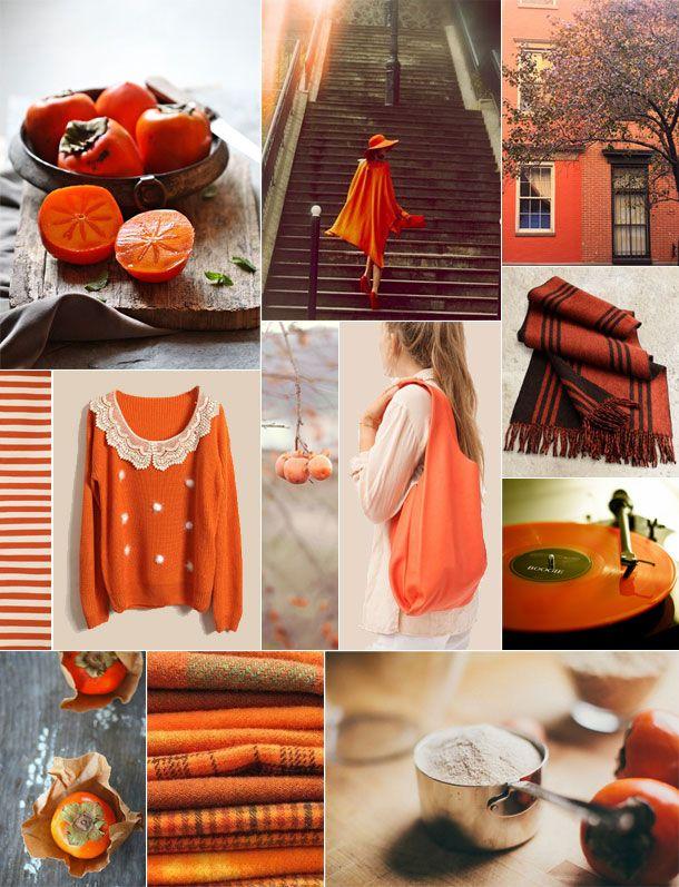 sape orange shweshwe moodboard - 610×797