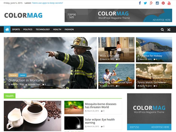 ColorMag — Free WordPress Themes