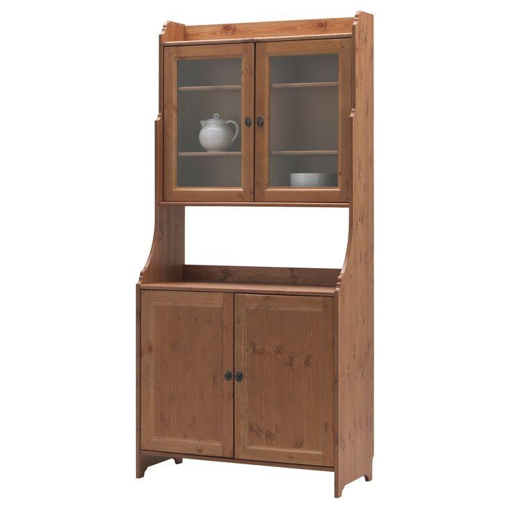 LEKSVIK Buffet with top cabinet - IKEA
