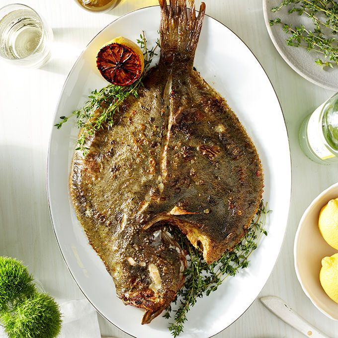 Recipe! Make oven-roasted turbot in just 30 minutes. Turbot is the ideal winter fish, best suited for roasting in the oven in a savory blend of lemon, butter, and herbs. Sourced from Spain, this fish can be cooked whole or as a bone-in chop—a unique feature that lends itself to slow-cooking and more deeply infused flavors.