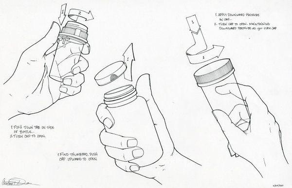 Existing Pill Bottle Study on Behance