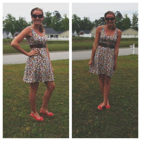 Gidget and Guido: DIY - Easy Dress, NO Pattern! In 40 minutes!