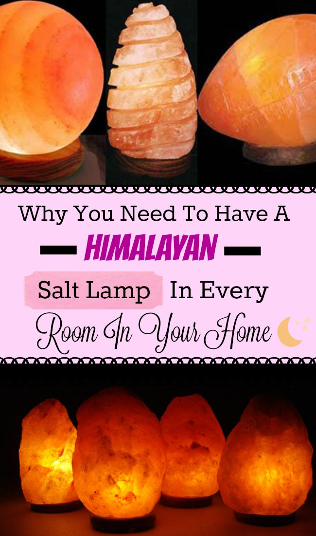 Why You Need To Have A Himalayan Salt Lamp In Every Room In Your Home