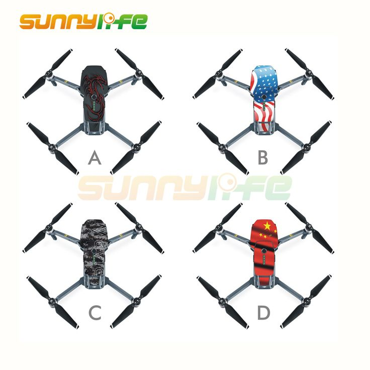PVC Waterproof Stickers Skin Decals for Mavic Pro. Click visit to buy