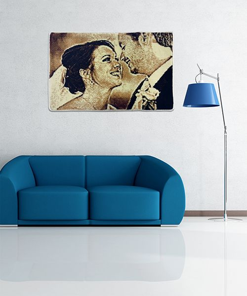 Kişiye Özel Dokuma Halı (35 cm. x 45 cm.)
