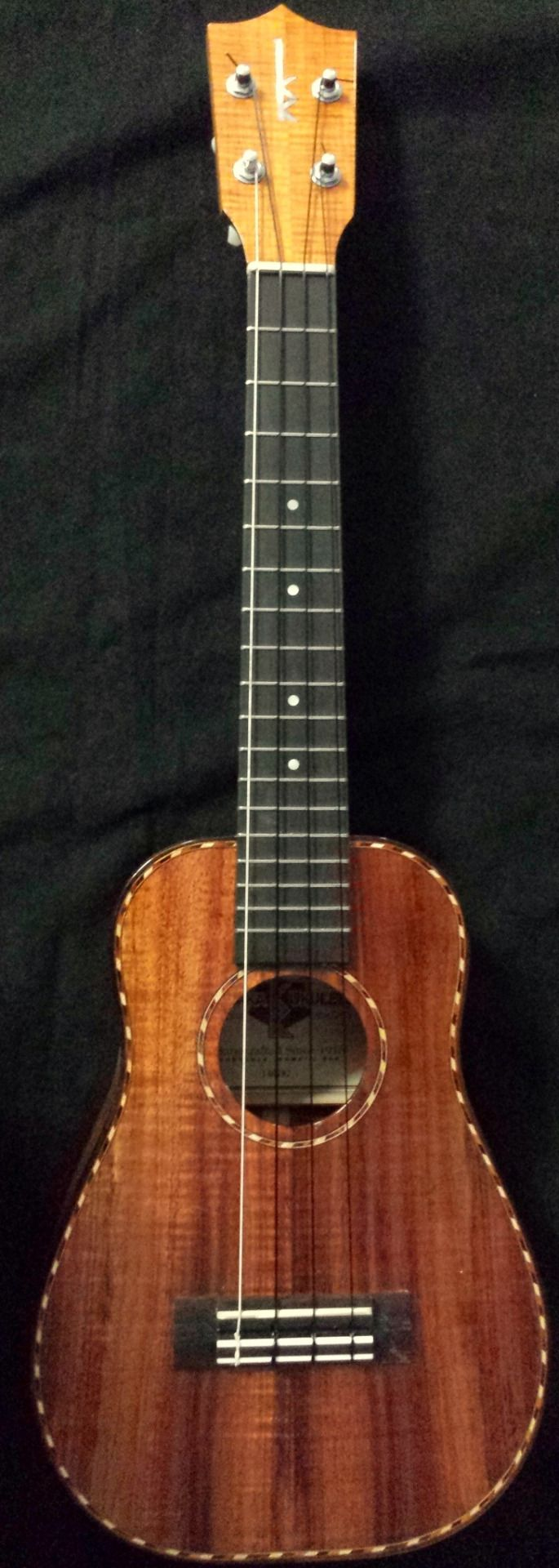 lardyfatboy: The Kamaka bell shaped concert ukulele known as the Ohta San =Lardys Chordophone of the day - a year ago --- https://www.pinterest.com/lardyfatboy/