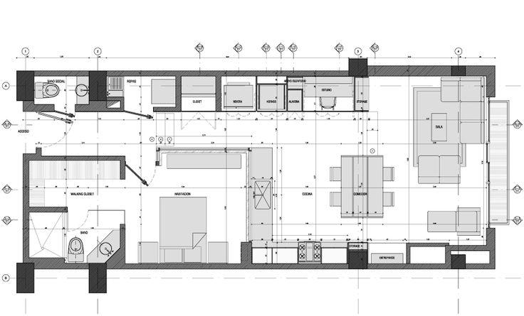 Apartamento Rubiano. MEMA Arquitectos, 2013.