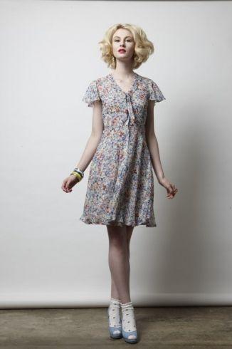 Perfect spring dress! NZ Spring 2013