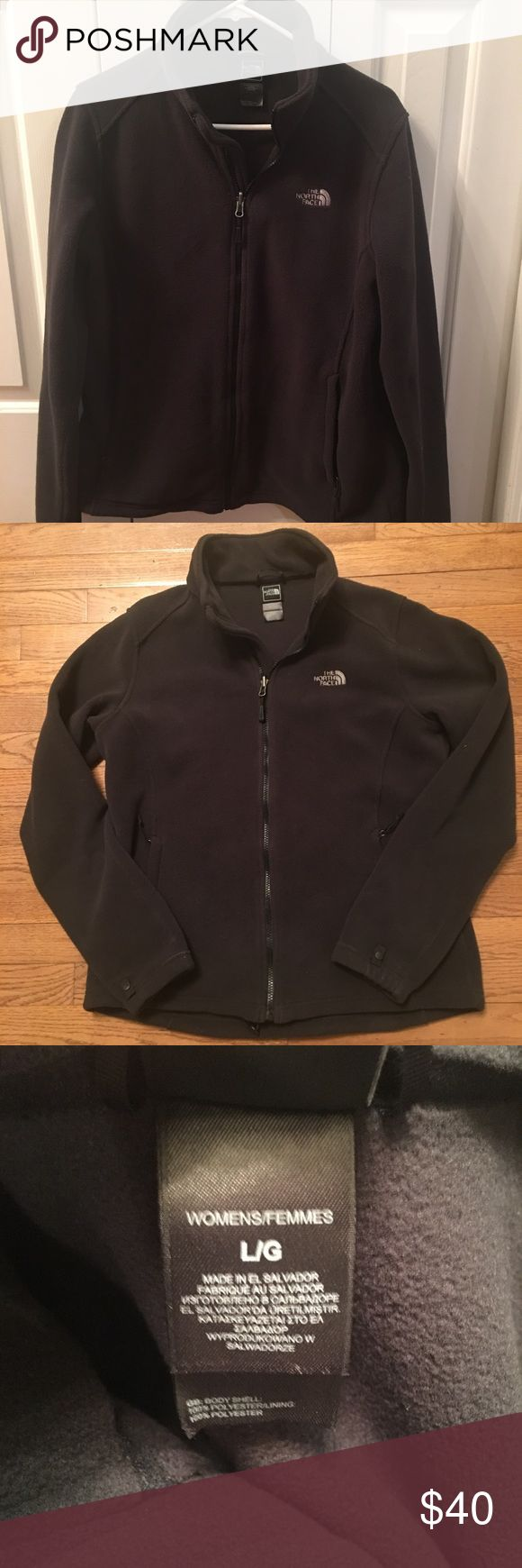 North Face Womens Jacket Black Sz Large North Face Women's Jacket Black Sz Large. In great condition. No holes or stains. North Face Jackets & Coats Utility Jackets