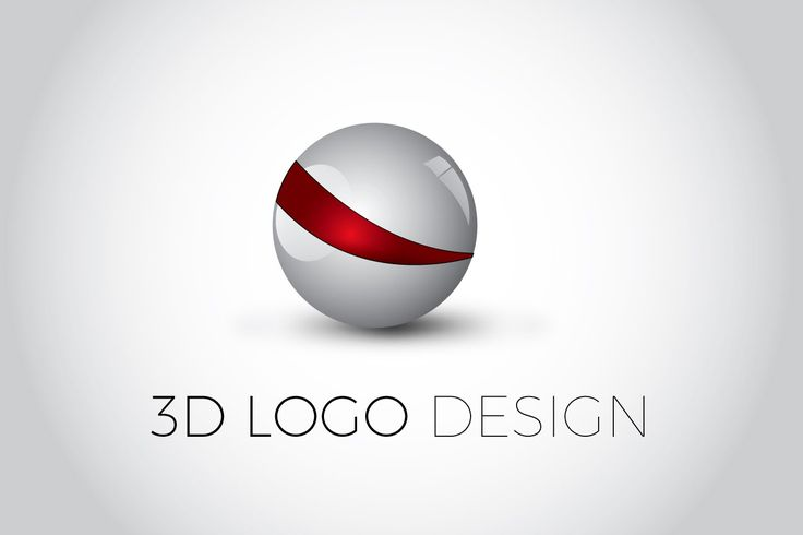 3D Glossy Ball Logo Design | Illustrator Tutorial | Logo ...