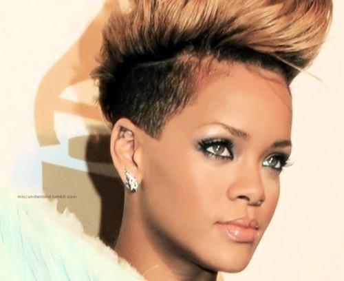 Rihanna short hair Hairstyles Pinterest
