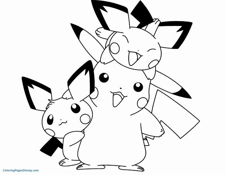 Pin Oleh Jennifer Karen Di Kids Projects Pikachu Halaman Mewarnai Lembar Mewarnai