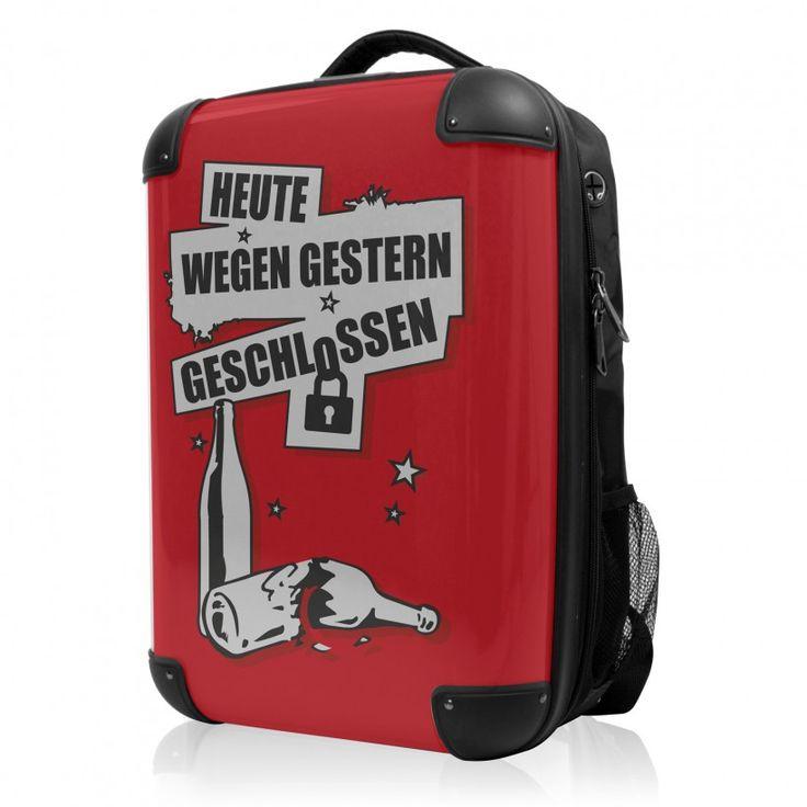 """BLNBAG - Rucksack Weich/Hart Hybrid Design: Wegen gestern geschlossen in Rot, 50 cm, 28 Liter; Roter #Rucksack aus der Serie """"BLNBAG"""" von #Hauptstadtkoffer.  #Hartschalenrucksack #Rot  #Koffer #Travel #Luggage #Reisen #Urlaub #red #rouge => mehr Rote Koffer: https://hauptstadtkoffer.de/de/catalogsearch/result/index/?color=26&limit=90&q=Rot"""