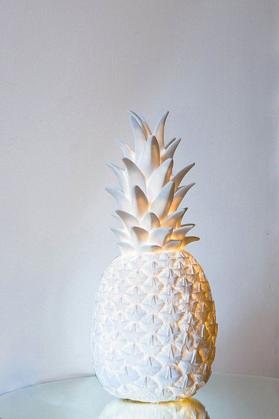Back In Stock Pina Colada Lamp in White Contemporary by FigoHome
