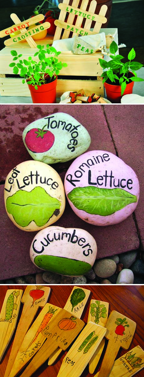 Those painted rock markers are awesome. As much as my kids love to paint rocks, maybe I could get them to make me some of these