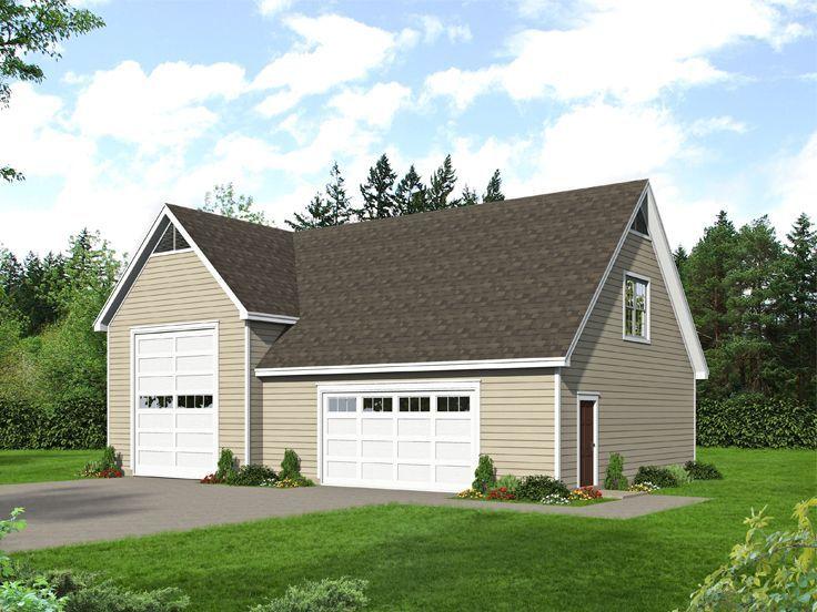 062g 0197 Lift Friendly Rv Garage Plan 50x32 Garage Plans House Plans Garage Plan