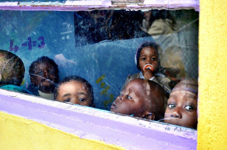 Preschool in Masiphumelele Township, Cape Town