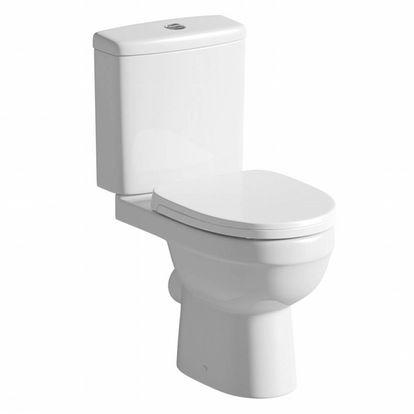 Energy Close Coupled Toilet inc Soft Close Seat