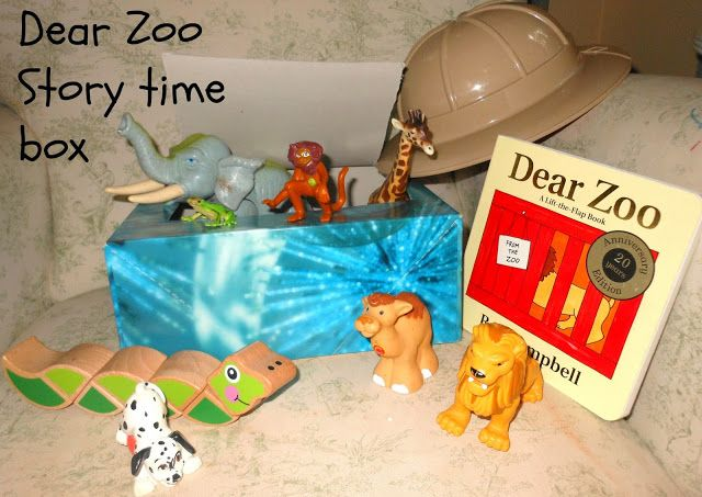 Dear Zoo Story Time box