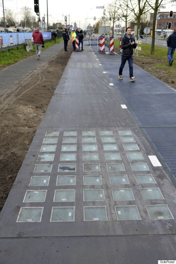An experimental bike path that also functions as a giant solar cell has far exceeded expectations in the six months it's been in use -- and that has scientists eyeing roadways as possible sources of solar energy to power street lights, traffic systems, and electric cars.