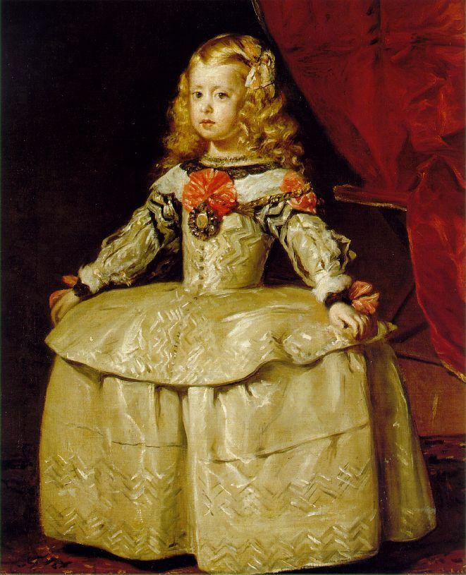 http://www.sfflierculp.com/wordpress/wp-content/uploads/2008/05/velazquez_infanta1.jpg  Infanta by Velazquez