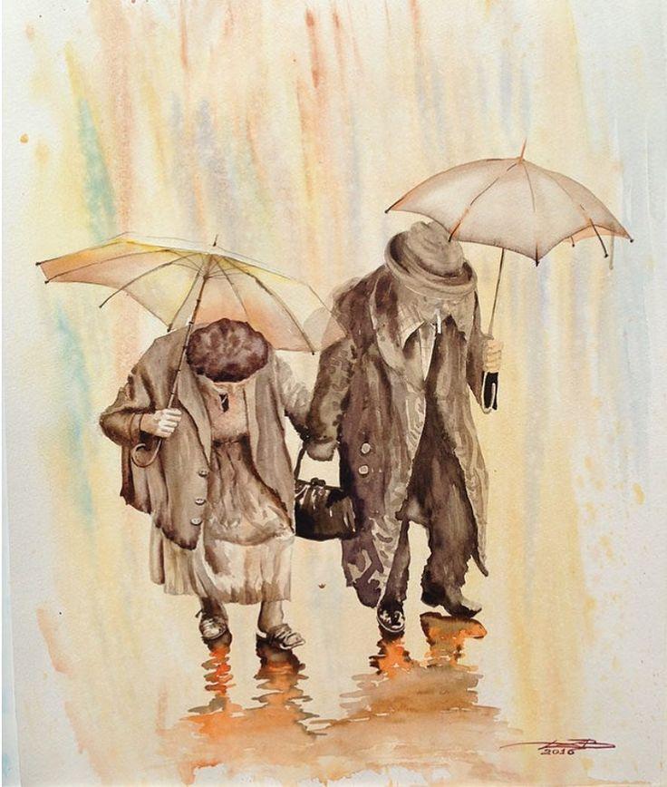 ангел под зонтом картинки гриль-баре гости