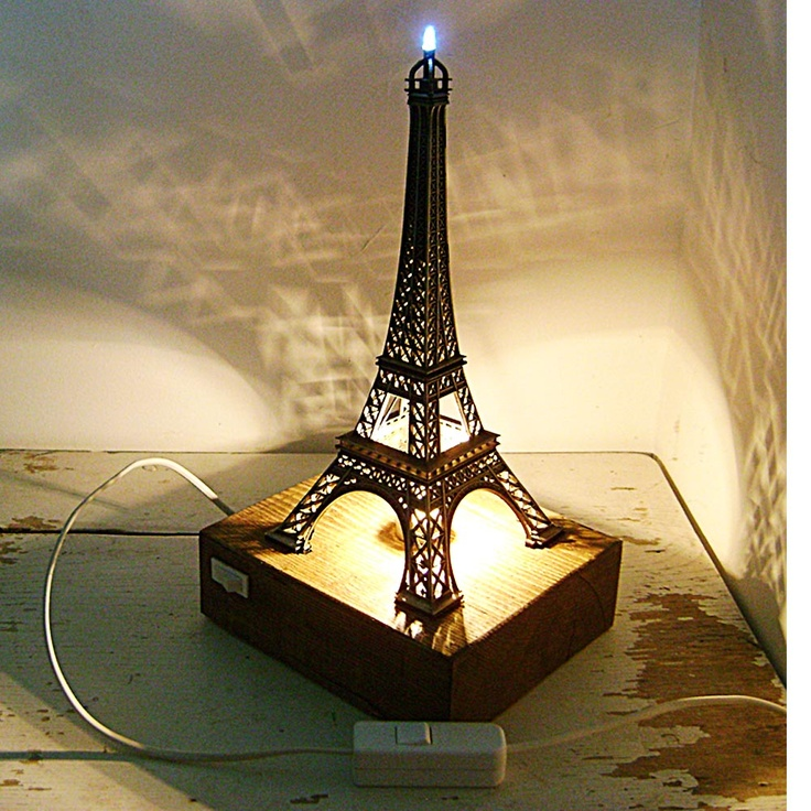 Eiffel Tower Desk Lamp :)