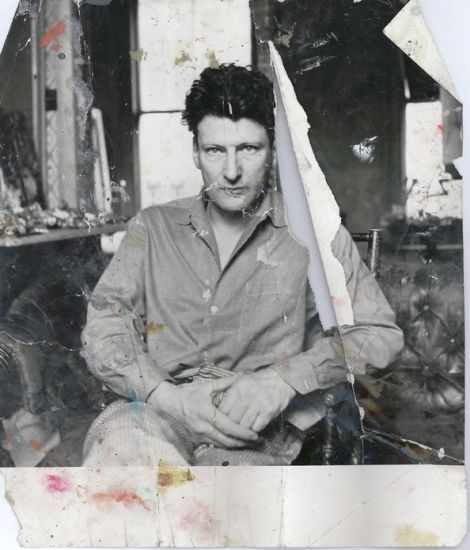 Lucian Freud, circa 1960s. Photograph by John Deakin. Collection Hugh Lane Gallery © The Estate of Francis Bacon
