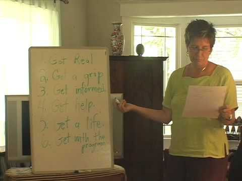 """Dr. Marlene Winell - Recovering from Toxic Religion - (Part 2) ... Excerpt from a recent """"Release and Reclaim"""" retreat where Dr. Winell outlines 7 steps towards recovering from indoctrination by authoritarian religions such as evangelical Christian, Mormon, Jehovah Witness, Christian Science, Scientology, Moonies, Eastern cults, etc. More info: www.marlenewinell.net  -- (2009)"""