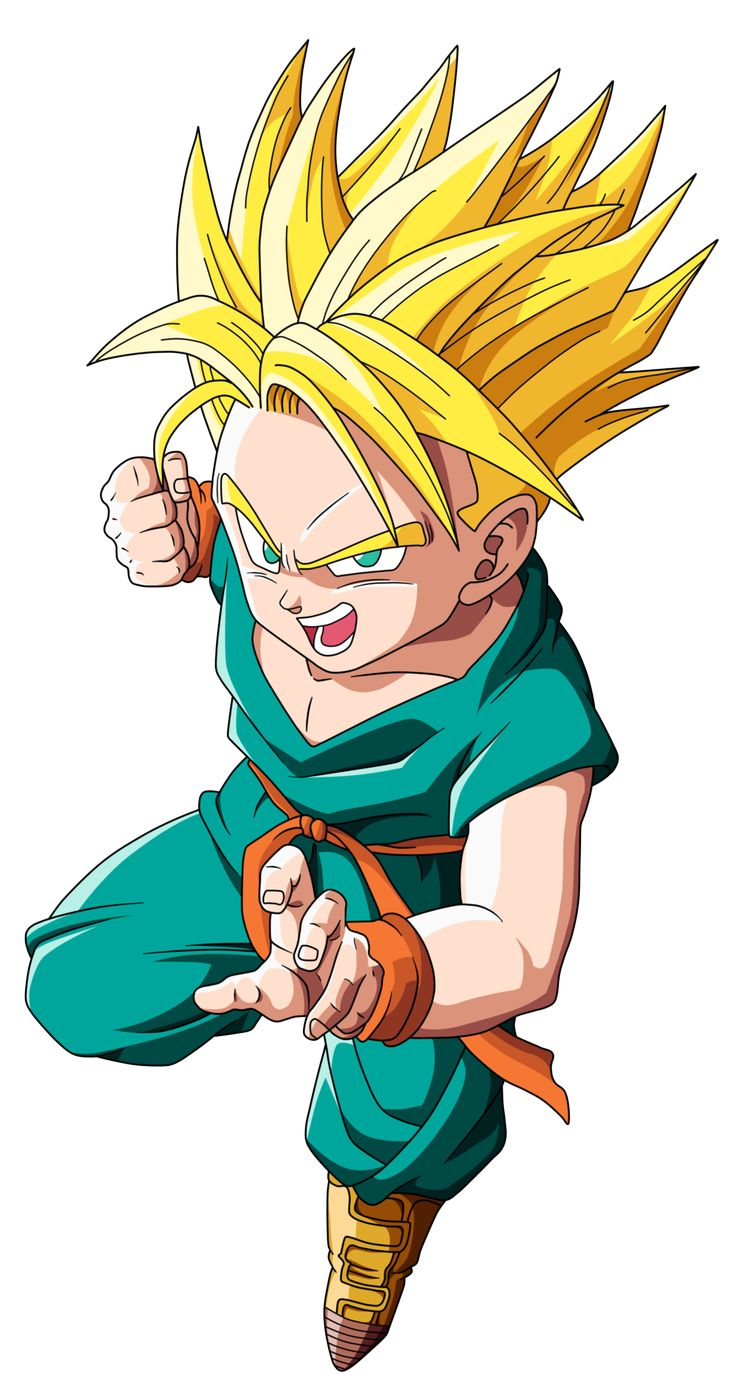 Kid Trunks SSJ by EmiyanSaiyan.deviantart.com on @DeviantArt