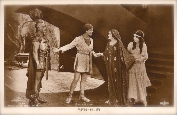 Ben-Hur 1925 Famous Iconic Hollywood Silent by TheVintageProphecy