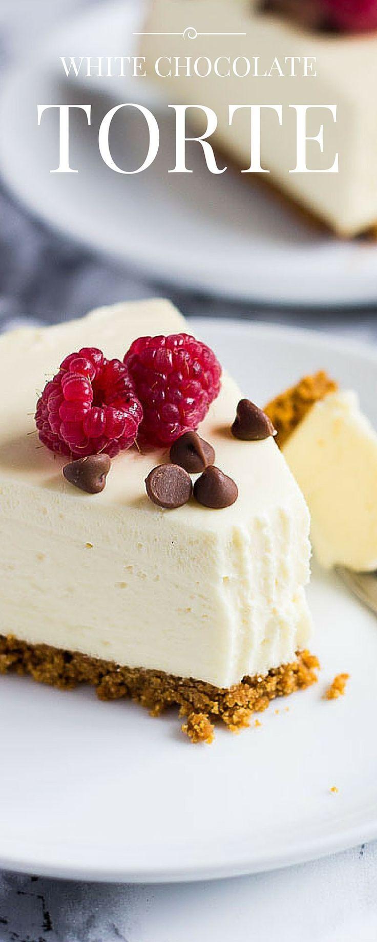 White Chocolate Torte | Marsha's Baking Addiction