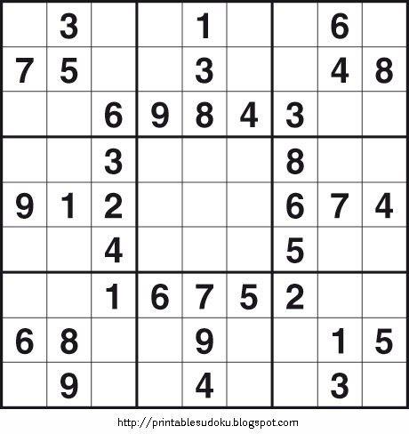 Printable Sudoku. Page 2    Printable Easy Sudoku Puzzles   Printable Fill In Puzzles. Page 4    Printable Easy Sudoku Puzzles   Printable F...