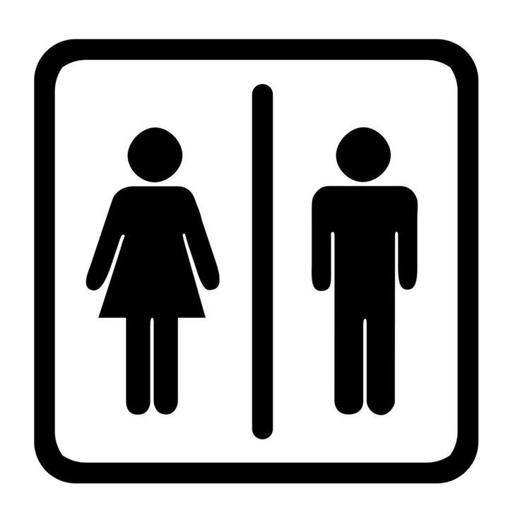 womens bathroom symbol vector free - Bathroom Symbol