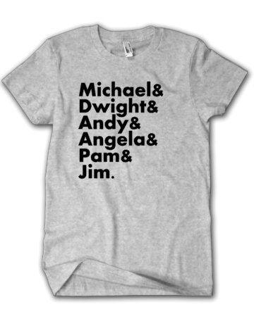 The Office Favorites List-Michael Dwight by CarolinaMagnoliaDes