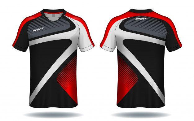 Download Soccer Jersey Template Sport T Shirt Design Sports Tshirt Designs Sport Shirt Design Polo Shirt Design