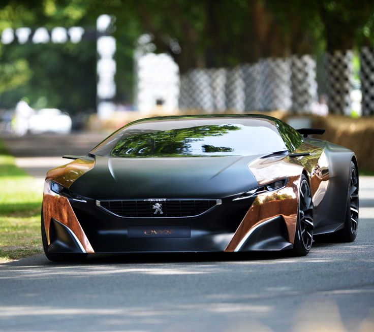 Peugeot's New Fractal Concept Is Like Sexy, Sexy Math ...