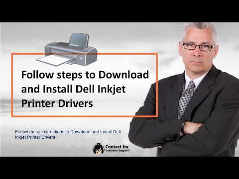 Call 1-844-395-2200 to know How to Download Install Dell Inkjet Printer Driver, watch here the step-by-step process explained by the printer experts to install the driver for Dell Inkjet printer. This process also helps in installing driver for all types of Dell Inkjet printers to get uninterrupted printing. The printer driver installed with the steps guided here with 24-hour online support by printer experts to resolve the Dell inkjet and other types of printers.