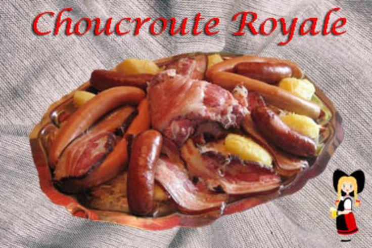 Choucroute Royale pour 4 et plus