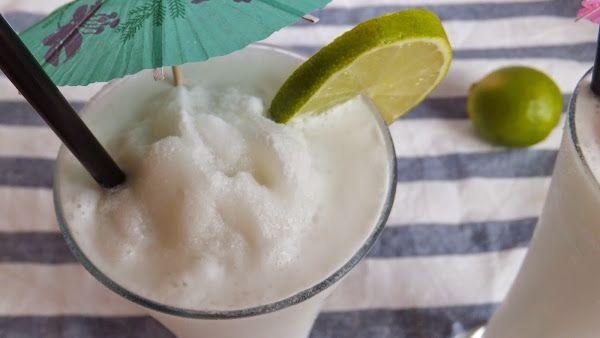 Granizado de limonada de coco colombiana