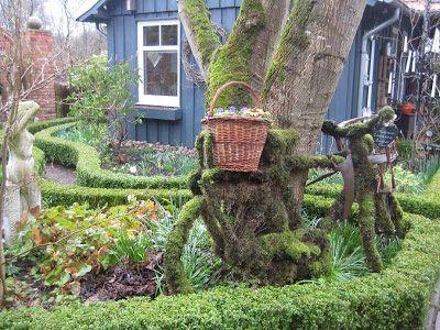 Gartendeko-Blog: Moos angesetzt