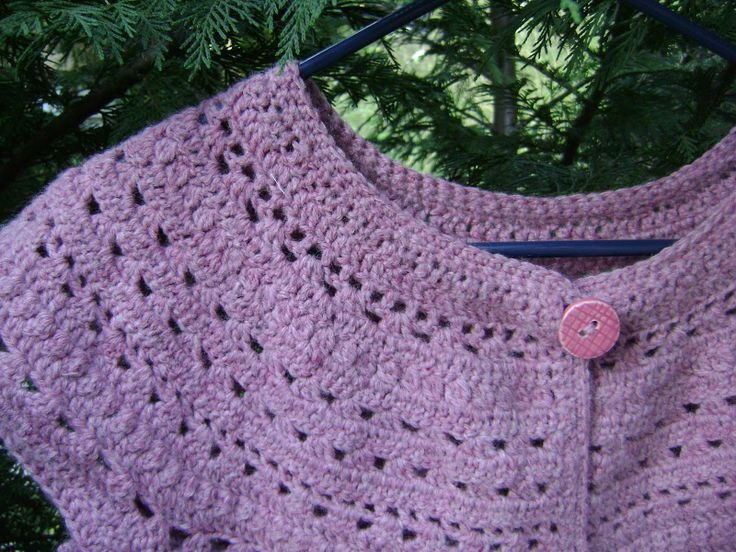 17 Best images about Crochet yoke dresses and nightgowns ...