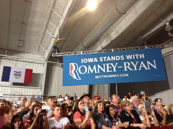 coach outlet online clothing Huge crowds deafening cheers for Romney in Iowa Ohio Election not about me its aboutAmerica  Wow Iowa sure turned out for Mitt Romney ton