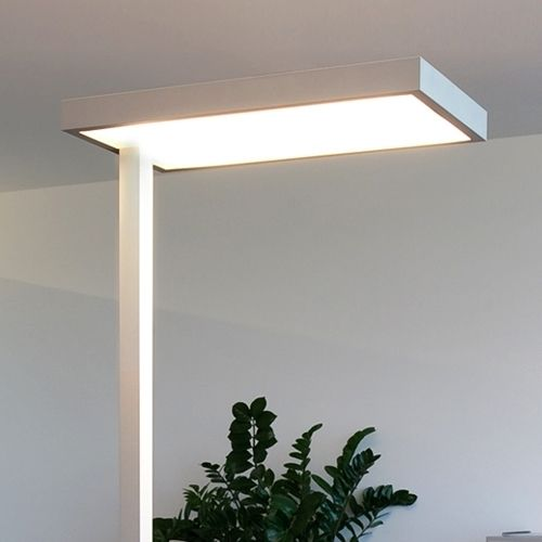 4 x 55 W 2G11 - Büro-Stehleuchte System Jetzt bestellen unter: https://moebel.ladendirekt.de/lampen/stehlampen/standleuchten/?uid=4ebdeae4-72dd-5d7b-91a1-aa5bb8c7e4a6&utm_source=pinterest&utm_medium=pin&utm_campaign=boards #stehlampen #leuchten #lampen #deckenfluter Bild Quelle: www.lampenwelt.de