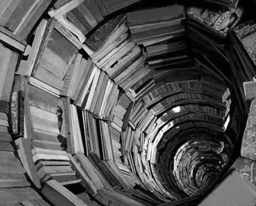 BRAIN 07 tunnel of books - by brandpowder