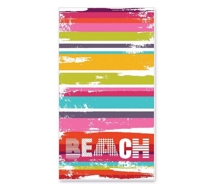 Πετσέτα Θαλάσσης Ζακάρ 100x180 BEACH SHADES
