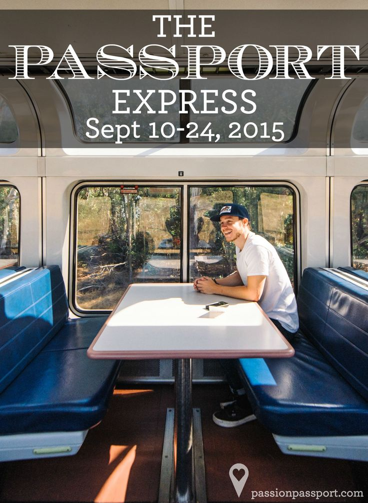 This September, we'll be joined by members of the Passion Passport community aboard the #PassportExpress. From September 10 - 24, we'll traverse the country from Washington, DC to San Francisco, CA on Amtrak trains. We want to bring you along for the journey! Joining you for the ride will be leading voices in travel, photography, and storytelling. These mentors will be hosting workshops and talks on a variety of topics. Click to learn more about the #PassportExpress and how you can come…