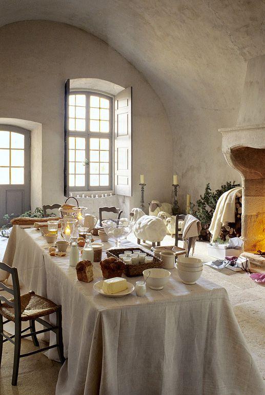 La spectaculaire cuisine ancienne du château