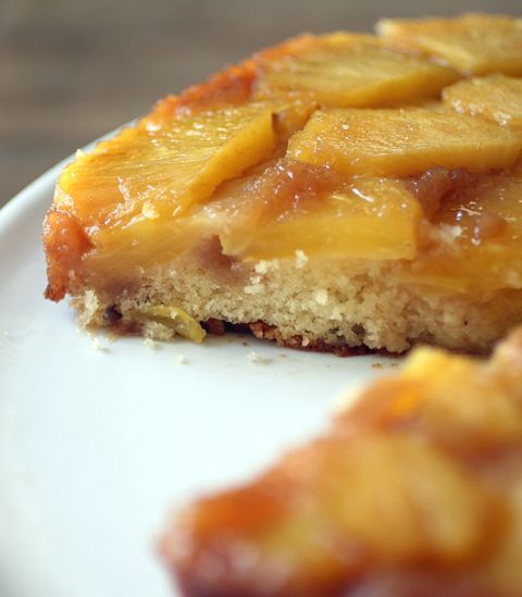 Thomas Kellers Pineapple Upside Down Cake